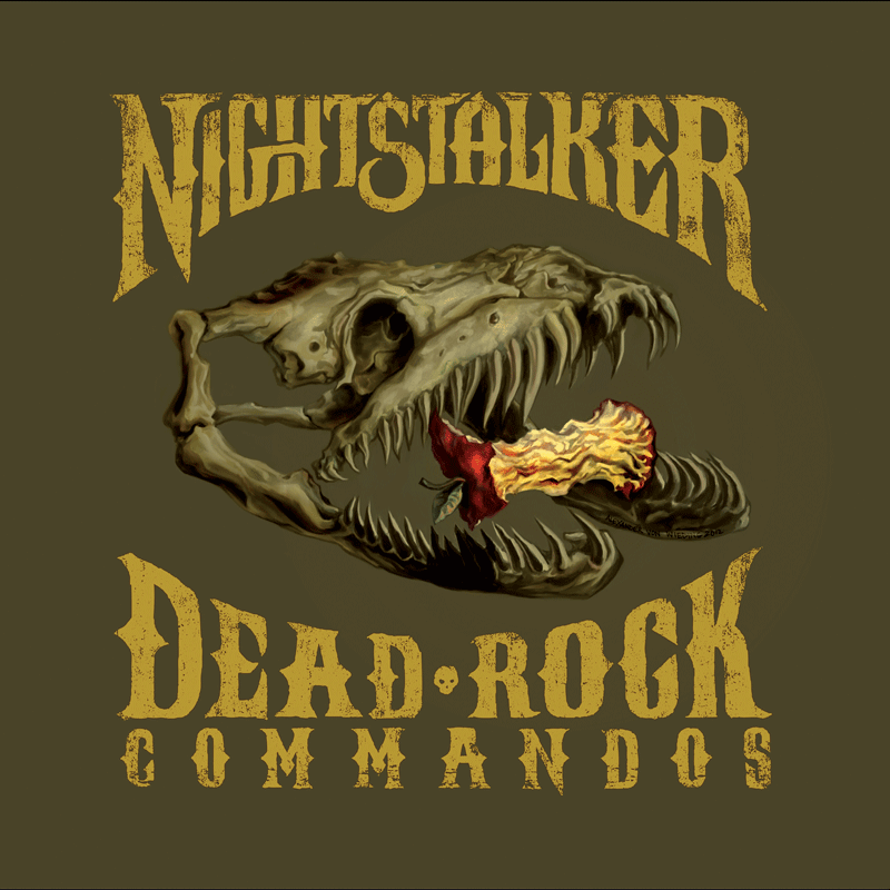 Nightstalker Dead Rock Commandos Labyrinth of Thoughts records