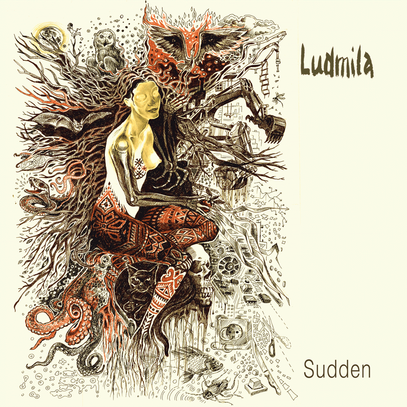 Ludmila Sudden Labyrinth of Thoughts records