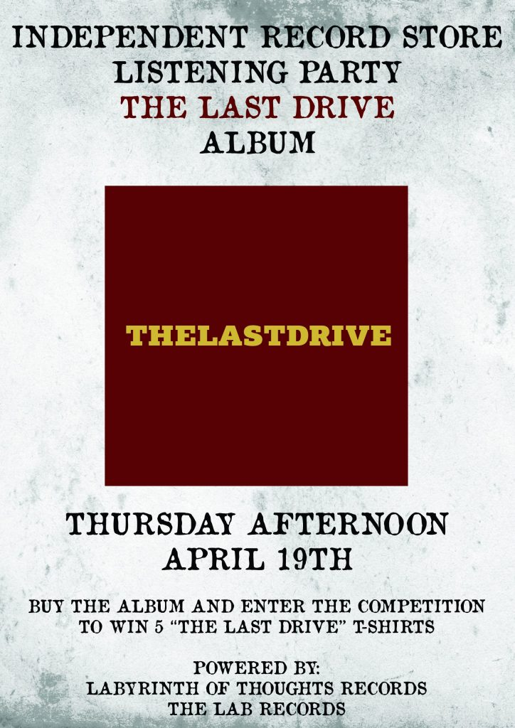 THE LAST DRIVE LISTENING PARTY