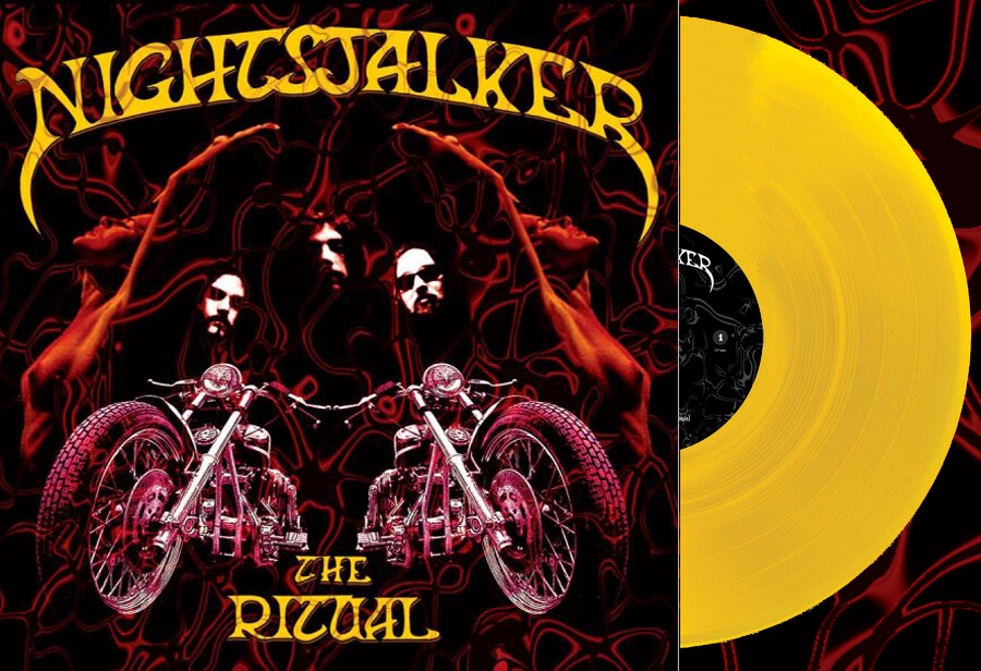 Nightstalker - The ritual (Sun Yellow vinyl)